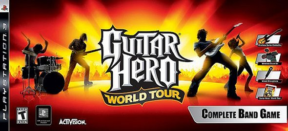 Guitar Hero World Tour Box Art